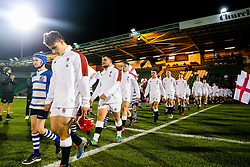 Sam Crean of England U20 - Rogan/JMP - 21/02/2020 - Franklin's Gardens - Northampton, England - England U20 v Ireland U20 - Under 20 Six Nations.