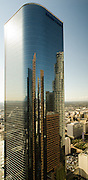 Los Angeles Skyscraper with reflections of other buildings
