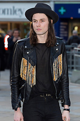 © Licensed to London News Pictures. 04/04/2016 JAMES BAY attends The Rolling Stones Exhibition Private at The Saatchi Gallery. London, UK. Photo credit: Ray Tang/LNP
