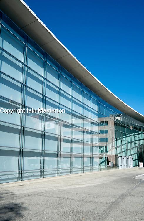 Neues Museum or New Museum modern art museum in Nuremberg Germany