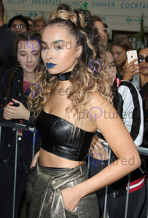Ella Eyre, London Fashion Week SS17 - Topshop, Old Spitalfields Market, London UK, 18 September 2016, Photo by Brett D. Cove