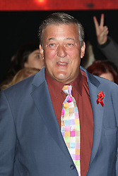 © Licensed to London News Pictures. 27/11/2014, UK.  Stephen Fry, The Hobbit: The Battle of the Five Armies - World Film Premiere, Leicester Square, London UK, 01 December 2014 Photo credit : Richard Goldschmidt/Piqtured/LNP