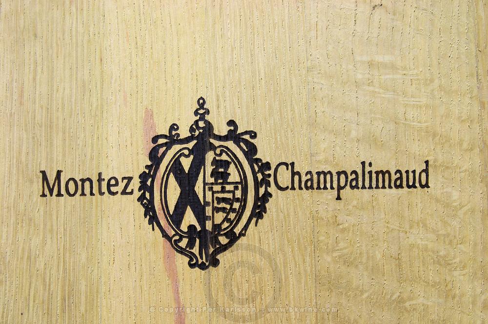 coat of arms montez champalimaud quinta do cotto douro portugal