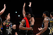 A X Armani Exchange Milano esultanza <br /> A X Armani Exchange Olimpia Milano - Umana Reyer Venezia - Semifinali PlayOff G1<br /> Basket Serie A LBA 2020/2021<br /> Milano 22 May 2021<br /> Foto Mattia Ozbot / Ciamillo-Castoria