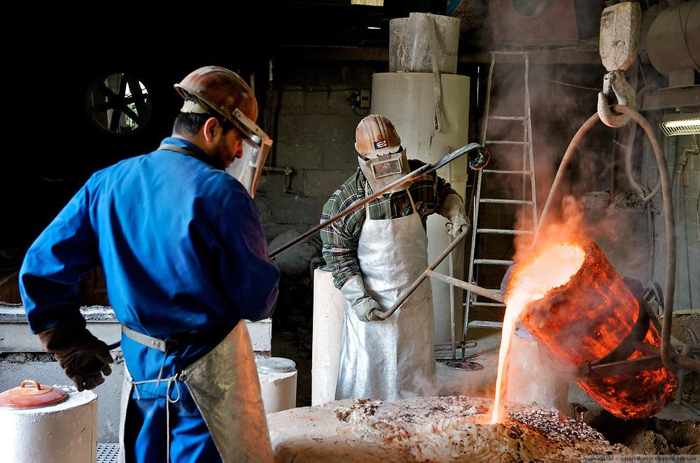 Oostakker, Belgium, Jun 11, 2009, Perseus, The making of<br /> <br /> ©Christophe VANDER EECKEN