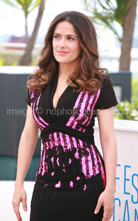 Salma Hayek-Pinault at the photo call for the film A Tribute to Animated Films at the 67th Cannes Film Festival, Saturday 17th May 2014, Cannes, France.