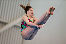 Katherine Torrance from City of Leeds Diving Club - Mandatory byline: Rogan Thomson/JMP - 24/01/2016 - DIVING - Southend Swimming & Diving Centre - Southend-on-Sea, England - British National Diving Cup Day 3.