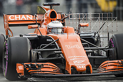 March 1, 2017 - Montmelo, Catalonia, Spain - FERNANDO ALONSO (ESP) takes to the track during day 3 of Formula One testing at Circuit de Catalunya (Credit Image: © Matthias Oesterle via ZUMA Wire)