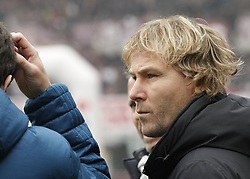 February 18, 2018 - Turin, Italy - Pavel Nedved during the Serie A match between Torino FC and Juventus at Stadio Olimpico di Torino on February 18, 2018 in Turin, Italy. (Credit Image: © Loris Roselli/NurPhoto via ZUMA Press)