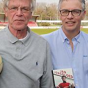 NLD/Amsterdam/20190330 - Boekpresentatie Oud keeper Jan Jongbloed, met schrijver Youri van den Busken