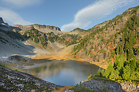 Bagley Lake. Heather Meadows Recreation Area, North Cascades Washington