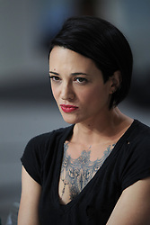 Asia Argento appears on Canal + TV show Le Grand Journal during the 67th Cannes Film Festival in Cannes, France on May 22, 2014. Photo by Alban Wyters/ABACAPRESS.COM    448959_036