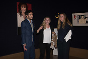 MARK FRANCIS VANDELLI;; SOPHIE SHEAF,;  RUBY DENT;, Bonhams host a private view for their  forthcoming auction: Jackie Collins- A Life in Chapters' Bonhams, New Bond St.  3 May 2017.