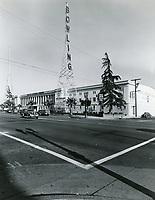1942 Sunset Bowling Center on Sunset Blvd. Formerly Warner Bros. Studios