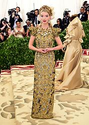 Anya Taylor-Joy attending the Metropolitan Museum of Art Costume Institute Benefit Gala 2018 in New York, USA.