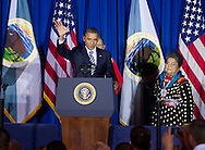 U.S. President Barack Obama (C) thanks Sonny (C/R) and Mary Black Eagle (R), his 'adoptive parents' from the Crow Tribe during the 2011 White House Tribal Nations Conference  which he hosted at the Department of the Interior in Washington, DC on December 2nd, 2011. thanks Sonny and Mary Black Eagle, his 'adoptive parents' from the Crow Tribe during the 2011 White House Tribal Nations Conference  which he hosted at the Department of the Interior in Washington, DC on December 2nd, 2011.