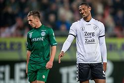 26-10-2016 NED: KNVB beker FC Utrecht, - Fc Groningen, Utrecht<br /> FC Utrecht heeft zich geplaatst voor de achtste finales van de KNVB-beker. De verliezend finalist van vorig seizoen rekende in stadion Galgenwaard af met FC Groningen, bekerwinnaar in 2015 / Sebastien Haller #22 FRA