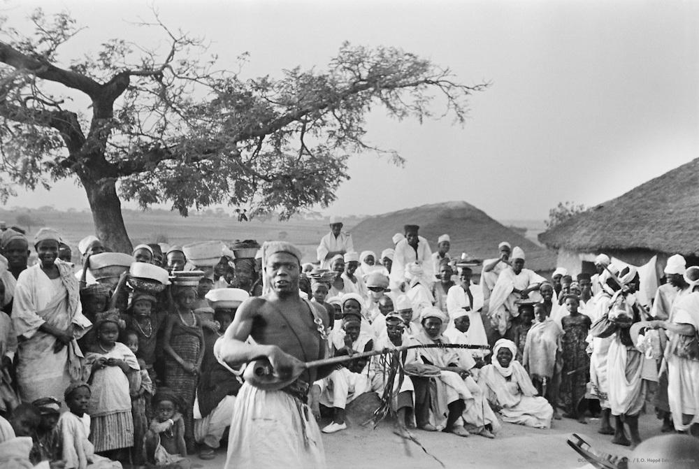 Dancer in the Street, Kano, Nigeria, Africa, 1937