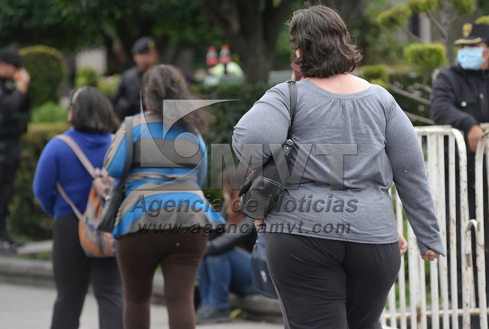 Toluca, México.- Durante la conferencia sobre Medidas Regulatorias en Publicidad de la Estrategia Nacional para la Prevención y Control del Sobrepeso, Obesidad y Diabetes, en donde se dio a conocer que México ocupa el segundo lugar mundial en obesidad, con 30 por ciento de la población, mientras que el otro 70 porciento padece sobrepeso. Agencia MVT / Crisanta Espinosa