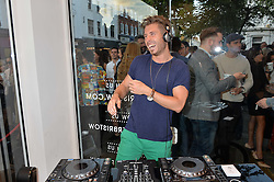 LOREN OAKLEY at the launch for the collaboration of Joel Swimwear for Collier Bristow held at Collier Bristow, 61 King's Road, Chelsea, London on 11th August 2016.