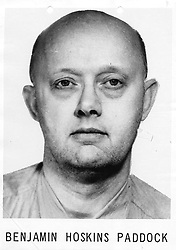 Oct 2, 2017 - Las Vegas, Nevada, U.S. - BENJAMIN HOSKINS PADDOCK, the father of Stephen Paddock, the suspect in a deadly mass shooting in Las Vegas on Sunday night,  was a bank robber who escaped from prison and was on the FBI's most-wanted list. In 1977, Benjamin Paddock was removed from the list when it was felt he no longer fit the Top Ten criteria. (Credit Image: © FBI via ZUMA Wire)