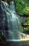 Bridle Veil Falls, Bushkill Falls, Poconos, Pike County, Pennsylvania