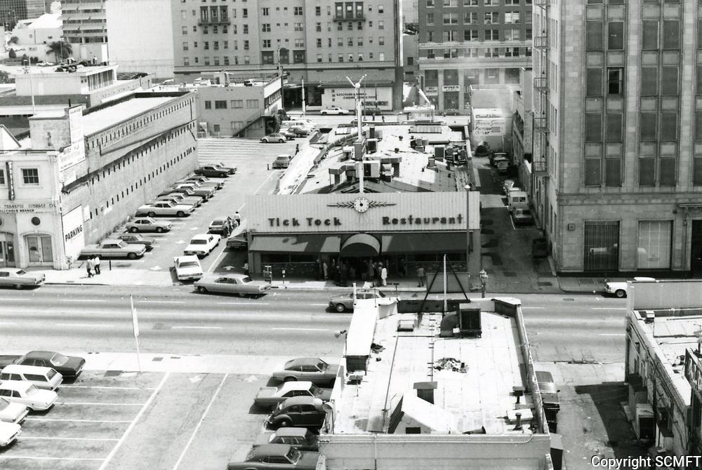 1976 Tick Tock Restaurant on Cahuenga Blvd.