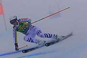 SOELDEN, AUSTRIA. OCTOBER 17 2020:  1st Women's Giant Slalom as part of the Alpine Ski World Cup in Solden on October 17, 2020; Run 1, Lena Duerr (GER) ( Pierre Teyssot/ESPA Images-Image of Sport)