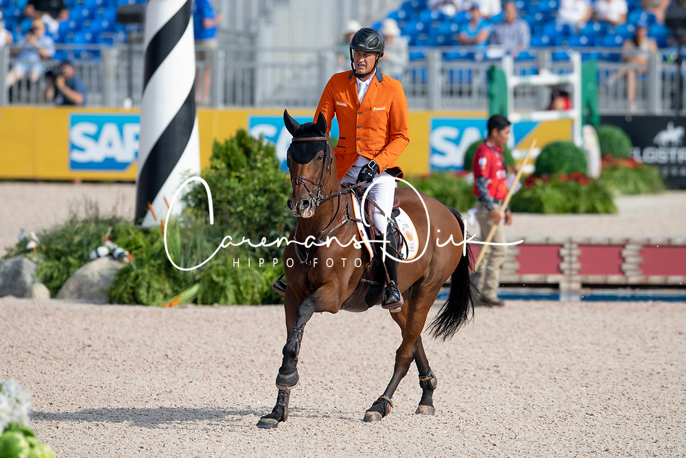Houtzager Marc, NED, Sterrehofs Calimero<br /> World Equestrian Games - Tryon 2018<br /> © Hippo Foto - Dirk Caremans<br /> 23/09/2018