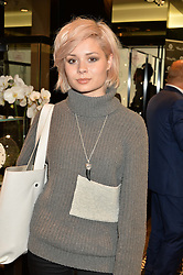 NINA NESBITT at the Thomas sabo & Professional Player cocktail reception at Thomas sabo, 65 South Molton Street, London on 30th September 2015.