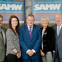 Scottish Assoc of Meat Wholesalers charity cheque presentation