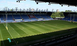 The Kassam Stadium - Photo mandatory by-line: Robbie Stephenson/JMP - Mobile: 07966 386802 - 16/05/2015 - SPORT - Rugby - Oxford - Kassam Stadium - London Welsh v Saracens - Aviva Premiership