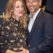 NLD/Utrecht/20181003 - NFF 2018, voorstelling Lois, zwangere Noortje Herlaar en partner Barry Atsma