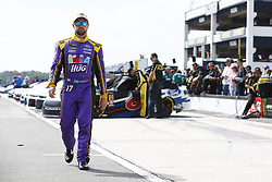 June 1, 2018 - Long Pond, Pennsylvania, United States of America - Ricky Stenhouse, Jr (17) hangs out on pit road before qualifying for the Pocono 400 at Pocono Raceway in Long Pond, Pennsylvania. (Credit Image: © Chris Owens Asp Inc/ASP via ZUMA Wire)