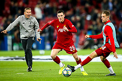 Andrew Robertson of Liverpool and Jordan Henderson of Liverpool - Mandatory by-line: Robbie Stephenson/JMP - 02/10/2019 - FOOTBALL - Anfield - Liverpool, England - Liverpool v Red Bull Salzburg - UEFA Champions League Group Stage