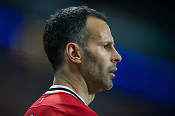 MANCHESTER, ENGLAND - Monday, April 30, 2012: Manchester United's Ryan Giggs in action against Manchester City during the Premiership match at the City of Manchester Stadium. (Pic by Chris Brunskill/Propaganda)