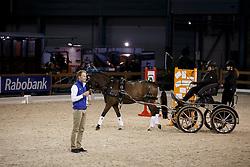 Francisca den Elzen, (NED) clinic met Bram Chardon<br /> Indoor Brabant - 's Hertogenbosch 2016<br /> © Hippo Foto - Dirk Caremans<br /> 11/03/16