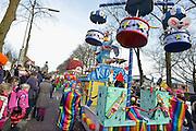 Nederland, Wijchen, 10-2-2013Carnavalsoptocht in Wijchen, ofwel Urnegat. Foto: Flip Franssen/Hollandse Hoogte