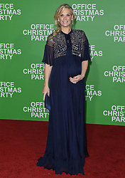 """Arrivals at the """"Office Christmas Party"""" film premiere in Los Angeles, California. 07 Dec 2016 Pictured: Molly Sims. Photo credit: Bauer Griffin / MEGA TheMegaAgency.com +1 888 505 6342"""