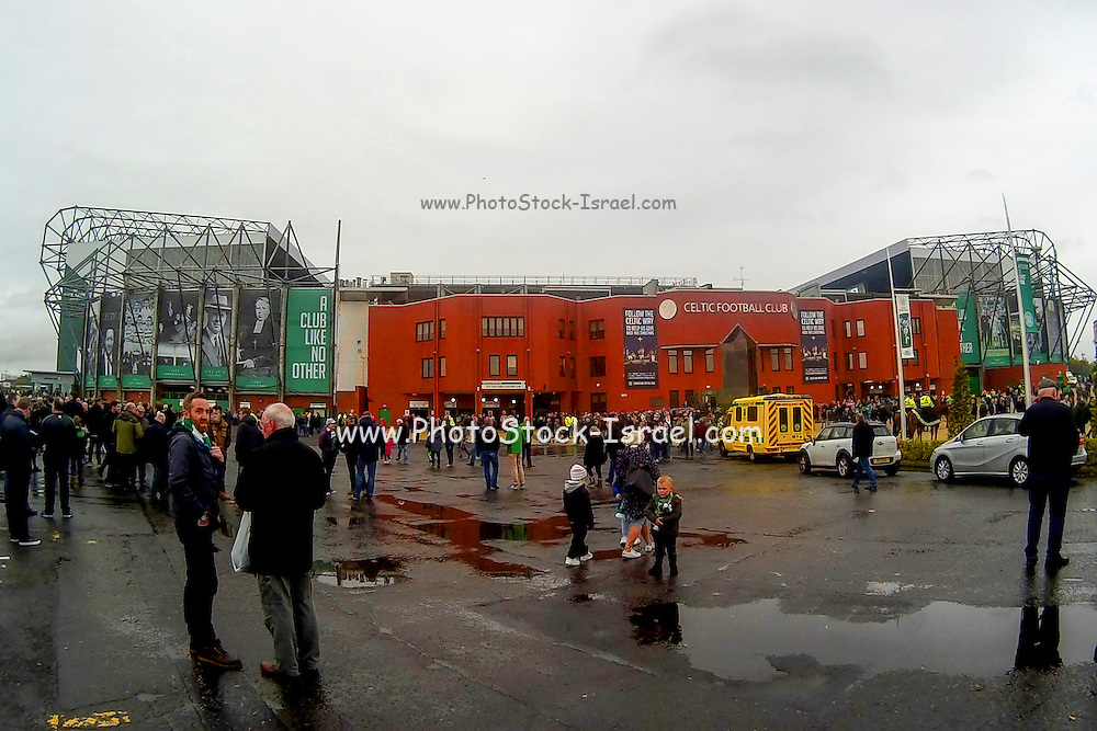 Celtic stadium Glasgow, Scotland