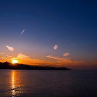 Sunrise Lake Zurich Switzerland