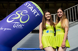 Hostesses during Stage 2 of 24th Tour of Slovenia 2017 / Tour de Slovenie from Ljubljana to Ljubljana (169,9 km) cycling race on June 16, 2017 in Slovenia. Photo by Vid Ponikvar / Sportida