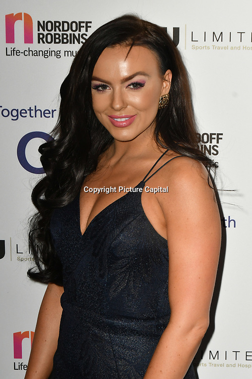 Rosie Williams attends Rugby legend DANNY CARE is to be honoured at the 24th annual Legends of Rugby Dinner 2019 in Aid of Nordoff Robbins on WEDNESDAY 16TH JANUARY 2019 at JW Marriott Grosvenor House, London, UK.