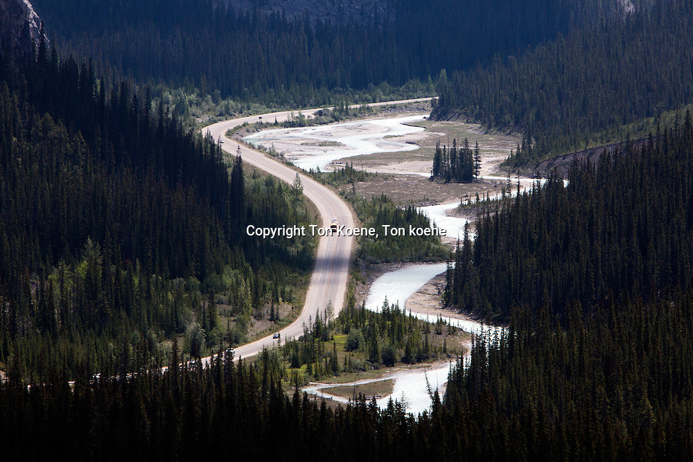 highway in BC, Canada