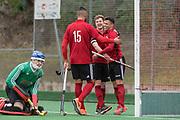 Southgate v Chichester - East Conference Men's Hockey League, Trent Park, London, UK on 18 February 2018. Photo: Simon Parker