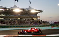 November 26, 2017 - Abu Dhabi, United Arab Emirates - Motorsports: FIA Formula One World Championship 2017, Grand Prix of Abu Dhabi, .#5 Sebastian Vettel (GER, Scuderia Ferrari) (Credit Image: © Hoch Zwei via ZUMA Wire)