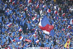 June 9, 2017 - Stockholm, Sweden - French fans..Football - 2018 FIFA World Cup Qualifying Group A, Sweden vs France, Friends Arena, Stockholm, Sweden, 2017-06-09..(c) Patrik C Österberg / IBL..XPBE....VM-kval, Sverige - Frankrike, Friends arena, 2017-06-09 (Credit Image: © Patrik C ÖSterberg/IBL via ZUMA Press)
