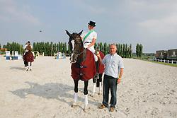 Van Looveren Annelies (BEL) - Don Saros van't Gestelhof<br /> BWP-LRV Moorsele 2009<br /> © Hippo Foto - Leanjo de Koster