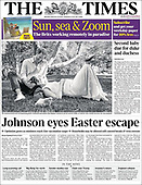 February 15, 2021 (UK): Front-page: Today's Newspapers In United Kingdom