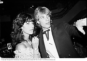 Amanda Aspinall and Damian Aspinall. rose ball. Grosvenor House. London. 20/5/82. Film 82406f6a<br />